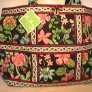 Vera Bradley Large Tic Tac Tote Botanica XL weekend diaper tote carryon NWT Retired