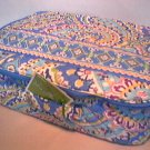 Vera Bradley Little Travel Case Capri Blue game craft diaper reader tablet case tote  NWT Retired
