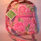 Vera Bradley Hipster crossbody shoulder bag  tote purse  Petal Pink   NWT Retired HTF
