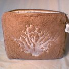 Crabtree & Evelyn  India Hicks Terry Travel Case Toiletry Bag  Island Living waterproof Lrg 9 x 11