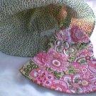 Vera Bradley Sun Hat Petal Pink Crusher - Reversible Bucket Hat   Retired - NWOT