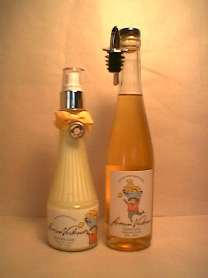 Mangiacotti Girl Lemon Verbena  Kitchen Soap + 2 Shea Lotion Bath Body Works Crabtree & Evelyn