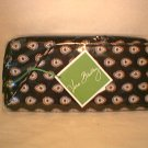 Vera Bradley Classic Black Travel Organizer  NWT  passport wallet Retired