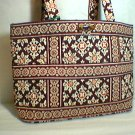FS Vera Bradley Small Tic Tac Tote purse handbag kindle toggle tote Medallion  NWT Retired