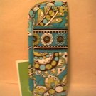 Vera Bradley Readers Case Peacock  slim eyeglass case  NWT Retired FS