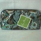Vera Bradley Travel Organizer zip around wallet Java Blue • NWT Retired - clutch  passport case