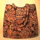 Vera Bradley Curvy Tote Kensington -  Purse knitting lingerie bag NWT Retired