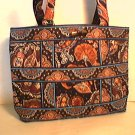 Vera Bradley Small Tic Tac Tote purse handbag reader tablet toggle tote  Kensington      NWT Retired