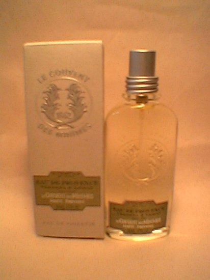 Bath Body Works 3.4 oz. Verbena  Lemon EDT Eau de Toilette Le Couvent des Minimes L occitane large