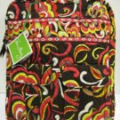 Vera Bradley Tall Zip Tote Puccini  pocket tote  laptop carryon commuter  NWT Retired