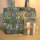 Vera Bradley Small Tic Tac Tote purse handbag Peacock  NWT Retired