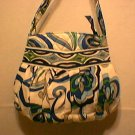 Vera Bradley Hannah purse girls handbag Mediterranean White NWT Retired tech bag