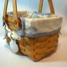 Longaberger Seashell Basket 1999 Good Ol' Summertime collection