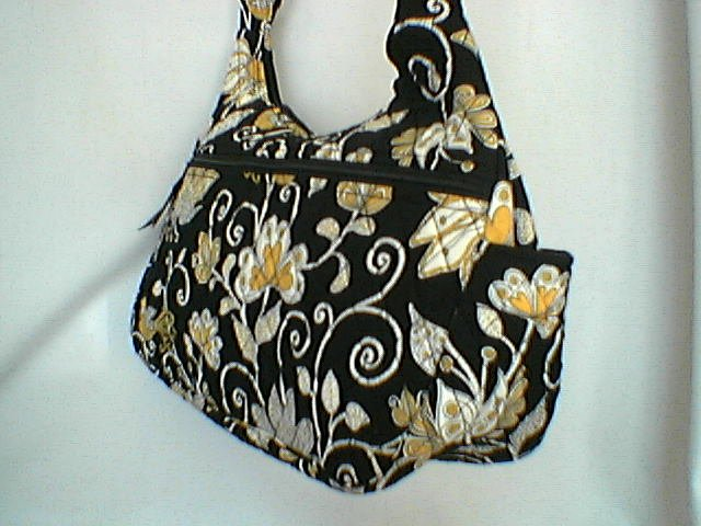 Vera Bradley Yellow Bird Cargo Sling � handbag  crossbody hobo purse diaper NWT Retired