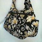 Vera Bradley Yellow Bird Cargo Sling • handbag  crossbody hobo purse diaper NWT Retired