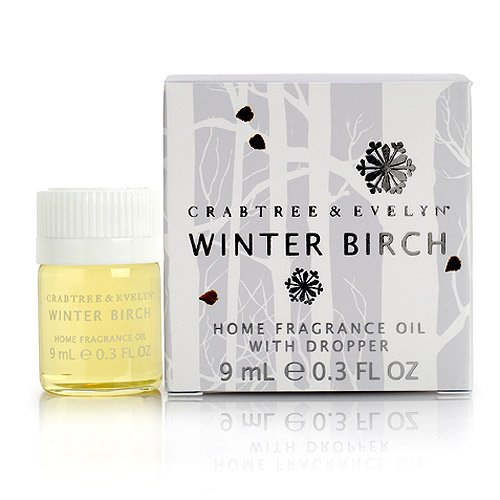 Crabtree Evelyn Winter Birch Environmental Home Fragrance Diffuser Oil  Discontinued  Rare