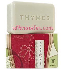 Thymes Fig Leaf & Cassis  Body Bar Soap large 8 oz.
