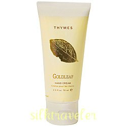 Thymes Goldleaf  Hand Creme Cream 2.5 oz purse FS travel