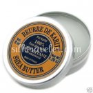 Mini pure Shea Butter Tin 0.26 oz/8 ml X2 L'occitane Pure Shea Butter FS PURSE/Travel
