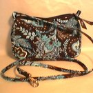 Vera Bradley Java Blue Amy crossbody convertible hipster  • swing bag girls purse   pre-owned