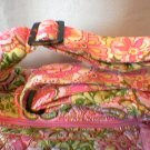 Vera Bradley Carryall diaper satchel crossbody handbag tote   Petal Pink   Retired, pre-owned  Mint