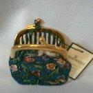Vera Bradley Animal Kingdom Kisslock coin purse   NWT Retired