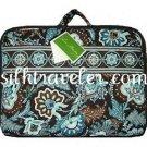 Vera Bradley Little Travel Case Java Blue game craft diaper case tote - NWT Retired HTF
