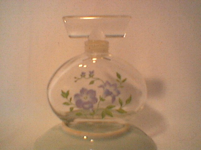 Royal Copenhagen Flora Danica Perfume Bottle  collectible