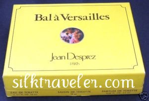 Bal a Versailles Giftbox - Eau de Toilette  Parfum de Toilette Savon soap - Jean Desprez EDT