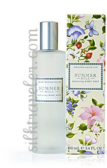 Crabtree Evelyn hydrating Body Mist Summer Hill � fragrance 3.4 oz / 100 ml Disc