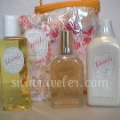 Crabtree Evelyn Veranda Gift Bag  Shower Gel lg Lotion Eau de Toilette - Rare Gift  exclusive, mint
