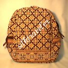 Vera Bradley Large Backpack Medallion NWT Retired  book laptop weekend overnight
