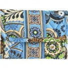Vera Bradley Pocket Wallet Bali Blue NWT Retired coin ID case, foldover