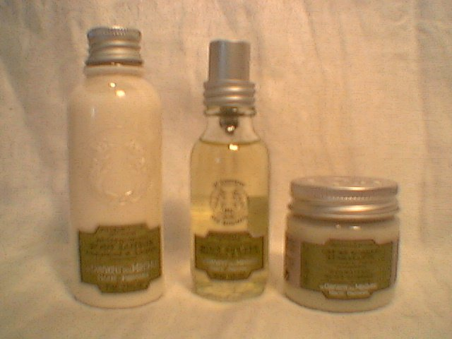 Le Couvent Verbena Lemon Trio Lotion, Splash, Cream sorbet  Bath Body Works L occitane