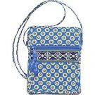 Vera Bradley Mini Hipster Riviera Blue • crossbody swing bag organizer wallet purse  NWT Retired