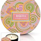 Crabtree Evelyn Wakaya Scented Travel Candles X2  Coconut Tiare Flower Tropical