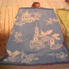 Martha Stewart by Mail  giant Pagoda Beach Towel  NIP  chinoiserie