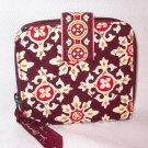 Vera Bradley Mini Zip Wallet coin ID case Medallion  NWT Retired HTF  zip-around