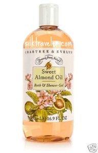 Crabtree Evelyn Bath Shower Gel 16.9 oz. Sweet Almond Oil � 500 ml  body wash