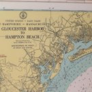 Coast Geodetic Survey USDC 12 Marine Nautical Map US Waterways laminated