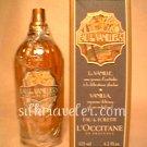L occitane Eau des Vanilliers EDT 4.2 oz 125 ml Eau de Toilette fragrance vanilla L'occitane