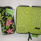 Vera Bradley Travel Organizer zip around passport wallet clutch Botanica -  NWT Retired