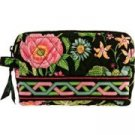 Vera Bradley Small Cosmetic case Botanica  make-up bag toiletry travel case NWT  Retired