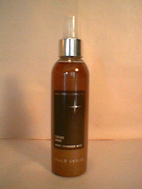 Crabtree Evelyn Body Shimmer Mist Cacao Noir   fragrance veil spray  Rare