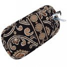 Vera Bradley Double Eye soft eyeglass case Caffe Latte  • NWT Retired VHTF