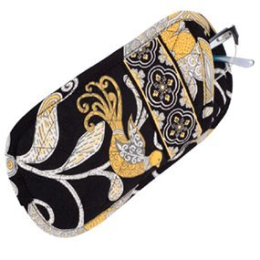 Vera Bradley Double Eye  Yellow Bird soft eyeglass case � NWT Retired VHTF