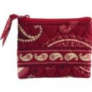 Vera Bradley Coin Purse Mesa Red   id credit business card case  NWT Retired