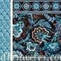 Vera Bradley Backsack Java Blue � tote knitting drawstring laundry bag - NWT  Rare Retired