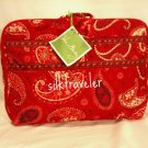 Vera Bradley Little Travel Case packing cube tablet diaper tote  Mesa Red  retired VHTF NWT