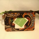 Vera Bradley Zip ID Case Kensington NWT Retired  coin purse business credit card holder